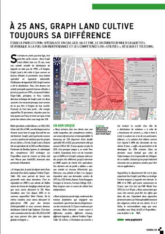 Les 25 ans de GRAPH LAND sur le SIGMAG de juin 2015 | Graph Land | Logiciels SSII | Scoop.it