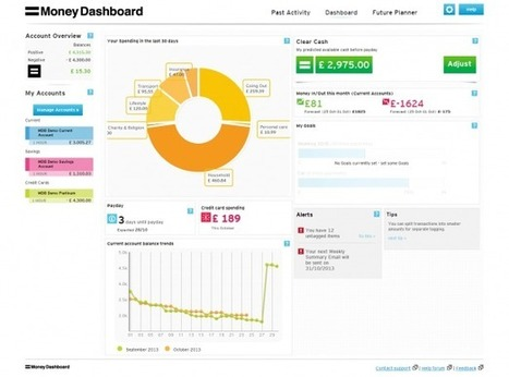 Personal Finance Apps with Amazing Dashboards ― Part 1: Money Dashboard   From Our Blog   Scoop.it