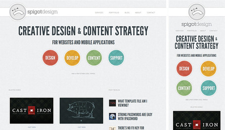 10 More Incredible Examples of Responsive Web Design | Basics and principles for a good  Web Design | Scoop.it