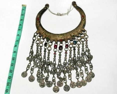 Afghan Necklace Traditional Tribal Dance ATS Neckwear Finest TOQ Jewellery   wedding  jewelry   Scoop.it