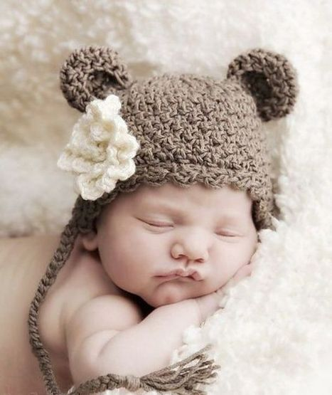 Photo Props Bear Baby Hat | Referencias babylist | Scoop.it