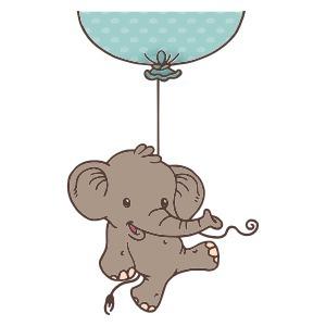 Sticker du jour : Sticker éléphant pour chambres d'enfant | Stickerzlab, des astuces et des idées déco pour tous | stickers autocollants décoratifs | Scoop.it
