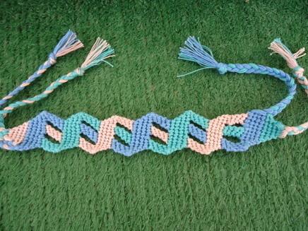 Tutorials - friendship-bracelets.net | crocheting | Scoop.it