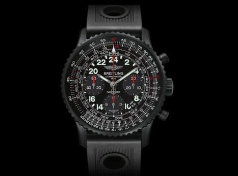 Breitling Navitimer Cosmonaute Blacksteel Watch   Watch Magazine   Scoop.it