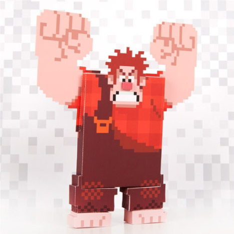 Papercraft Ralph 8 Bit | Paper is beautiful | Scoop.it