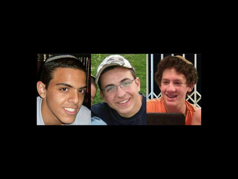 Hamas Admits Kidnapping Israeli Teens | Upsetment | Scoop.it