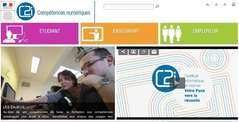 C2i : compétences numériques de l'adulte (étudiant, enseignant ou employeur) | TICE, Web 2.0, logiciels libres | Scoop.it