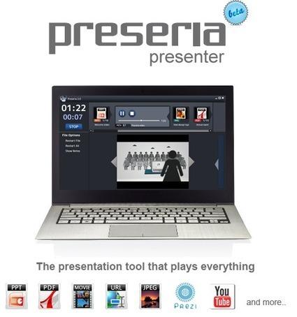 Preseria Presenter: Seamless presentations made easy   Digital Presentations in Education   Scoop.it