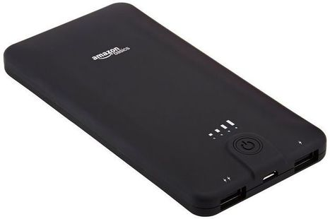 AmazonBasics Portable Power Bank - 10,000 mAh | Most Attractive Gift Zone | Scoop.it