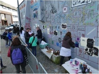 A Lille, la fraternité urbaine s'exprime à travers le street art collaboratif l Lumières de la ville | Innovations urbaines | Scoop.it