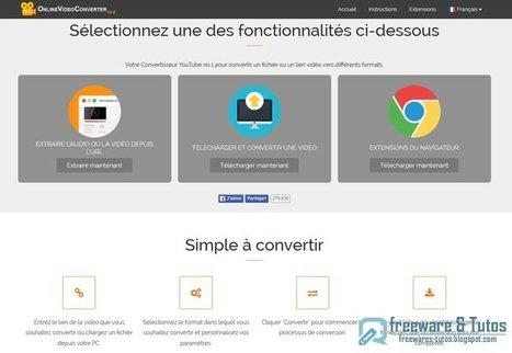 Online Video Converter : un service en ligne amélioré de conversion audio et vidéo | Time to Learn | Scoop.it