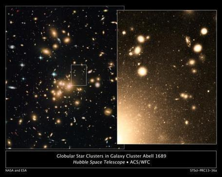 Hubble spots largest known population of star clusters -- about 160,000 of them | Amazing Science | Scoop.it