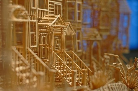 Tea with Grace: Amazing Kinetic Sculpture of San Francisco made with 100,000 toothpicks | Grace's Art Picks | Scoop.it