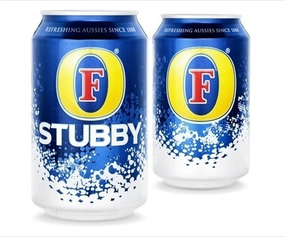 BrandMe designs Foster's lager Stubby can | News | Design Week | Corporate Identity | Scoop.it