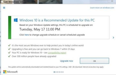 Windows 10 et le consentement de l'utilisateur, nouvelle polémique | Au fil du Web | Scoop.it