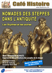 Nomades des steppes dans l'Antiquité : les Scythes et les autres - Café Histoire le 17 décembre 2013 | Cafés Histoire | Scoop.it