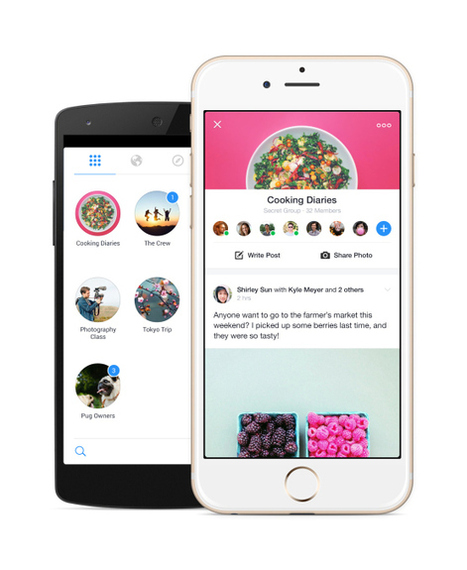 Facebook Launches Standalone Groups App To StokeMicro-Sharing | Social Media Bites! | Scoop.it