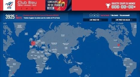 La FFR créée une plateforme social media pour encourager le XV de France ! | Le sport à l'ère du connecté | Scoop.it