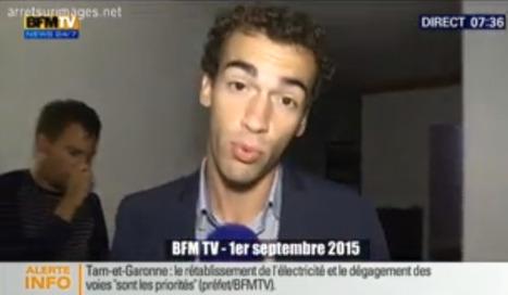 L'enfant barbu, et le vigile de BFMTV | DocPresseESJ | Scoop.it