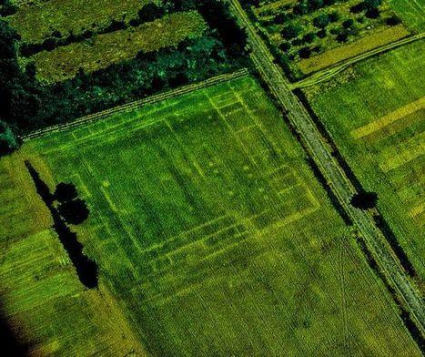 EN IMAGES. Notre passé vu du ciel : René Goguey, l'archéologue aux 100.000 photos | Bibliothèque des sciences de l'Antiquité | Scoop.it