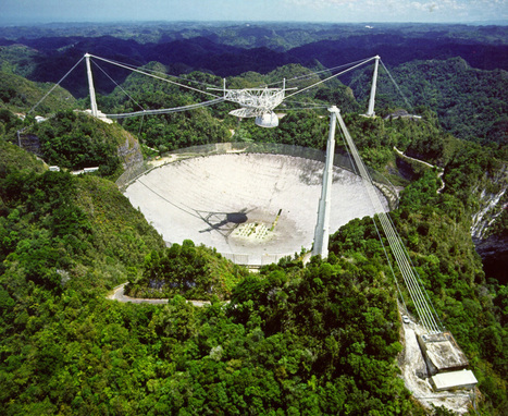 Arecibo detects mystery radio burst from beyond our galaxy | KurzweilAI | Astrophysics on Twitter | Scoop.it