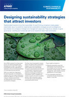 Designing sustainability strategies that attract investors | KPMG | GLOBAL | Legal Sustainability | Scoop.it