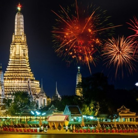 Best Places to Watch Bangkok to Welcome New Years Eve 2016 with Celebration Firework - happynewyear2016-images | wordpress | Scoop.it
