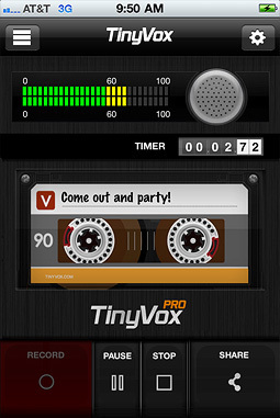 Record your voice notes and share them instantly | TinyVox | Herramientas digitales | Scoop.it