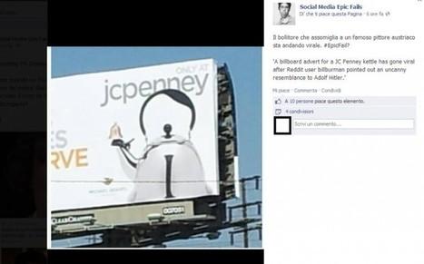 La pagina Facebook che sfotte gli epic fail delle aziende - Giornalettismo | Nico Social News | Scoop.it