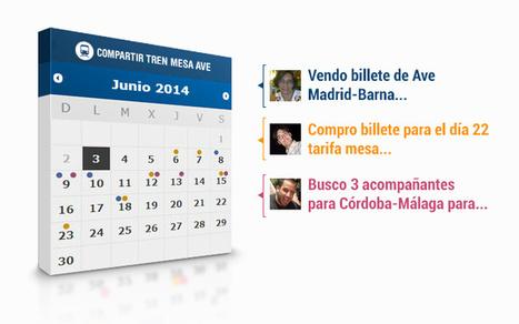 Compartir Tren Mesa AVE, la primera app de Facebook para comprar billetes de tren en grupo   Mundo CM   Scoop.it