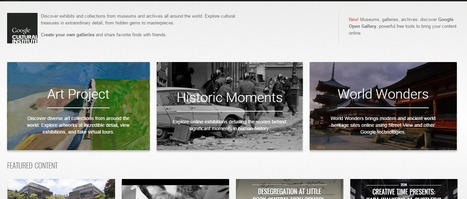 Google Cultural Institute | Handy Online Tools for Schools | Scoop.it