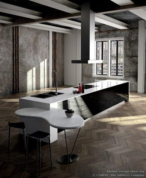Compac Quartz - Pictures of Kitchen Countertops & Surfaces | Engineered Stones | Scoop.it