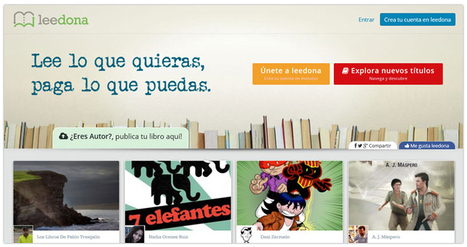 "Leedona: autopublicación con donaciones ""a voluntad"" 