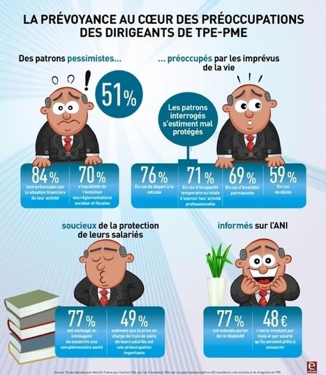 Infographie | La prévoyance au coeur des préoccupations des dirigeants de TPE | Assur | Scoop.it