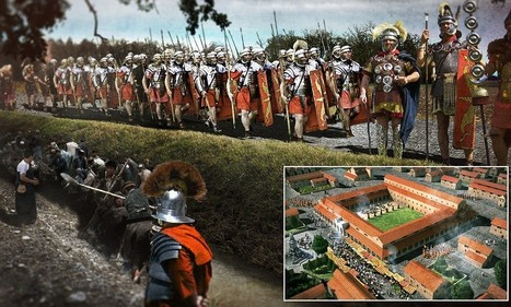 Roman Britain brought to life in amazing digital reconstructions - Daily Mail | Early Urbanization | Scoop.it