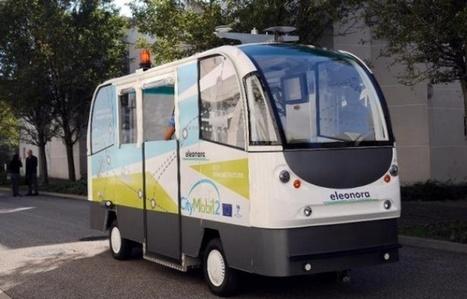 La Rochelle expérimente des minibus sans chauffeur jusqu'en avril   Mobilité   Scoop.it