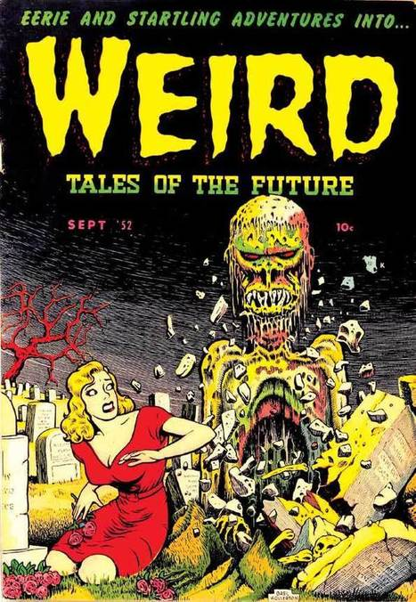 A fond look at the gruesome zombie comic books of yore   The Daily Weird   Scoop.it