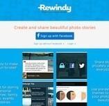 Rewindy. Raconter et partager des histoires en images. | Cabinet de curiosités numériques | Scoop.it