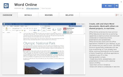 Microsoft makes Office Online available in Chrome Web Store | ZDNet | Microsoft | Scoop.it