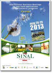SINAL Exhibition - International trade fair for the non-food applications of agricultural resources - 28 et 29 mai 2013 - Châlons- en-Champagne   Chimie verte et agroécologie   Scoop.it