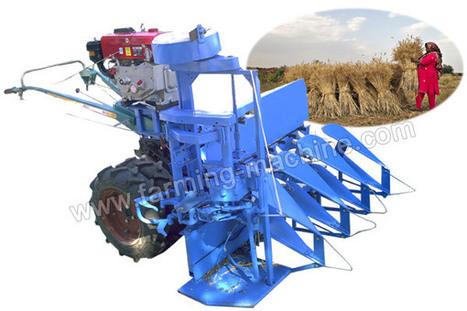 High Performance Three-row Reaper Binder Used for Wheat/Rice/Grass/Barley | Farming Machine | Scoop.it