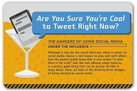 Don't mix social media and alcohol | Communication Advisory | Scoop.it