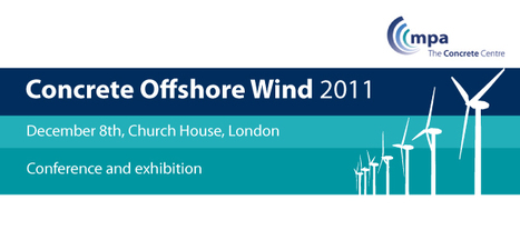 Concrete Offshore Wind (COW) conference programme | Energy and Sustainability | Scoop.it