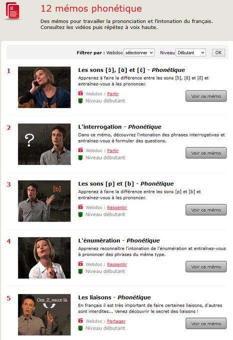 Phonétique : Parlons français, c'est facile ! | Remue-méninges FLE | Scoop.it