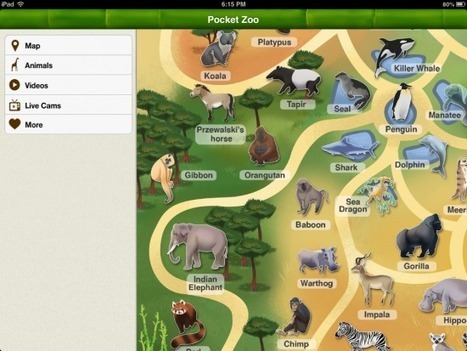 Put a Virtual Zoo On Your Students' iPads | iPads, MakerEd and More  in Education | Scoop.it