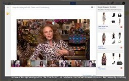 #TVgoesSocial #socialcommerce - @DVF makes another #fashiontech move with #shopthehangout   Fashion Technology Designers & Startups   Scoop.it