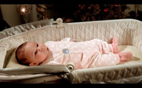 Monbaby, un capteur « Quantified Self » pour surveiller le sommeil de bébé | TuttiQuanti – Tout sur le Quantified Self : applis, objets connectés, sport, cigarette, régime, … | Les bébés connectés | Scoop.it