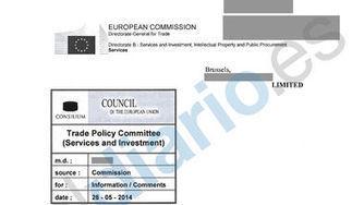 DOCUMENTO: El plan secreto para dar entrada a EEUU en el negocio de los servicios públicos de Europa | Mirada crítica | Scoop.it