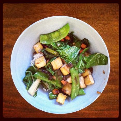 Green Vegan Living: Simple Summer Stir-Fry | Annie Haven | Haven Brand | Scoop.it