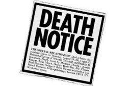 Death Notice: The Special Relationship | Saif al Islam | Scoop.it